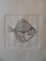 Turbo - eau forte sur zinc, 15x15cm, 2015 - impression sur papier A3