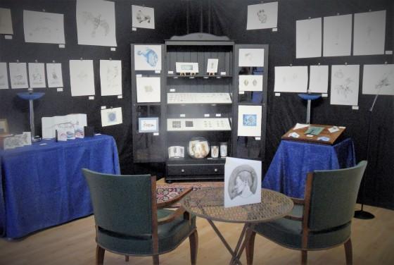 Prise de vue de l'exposition Wunderkammer, février 2016