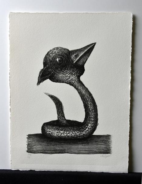 Sans-titre, Lithographie, 24x32cm, avril 2016